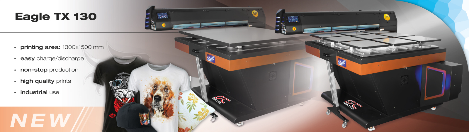 industrial textile printer