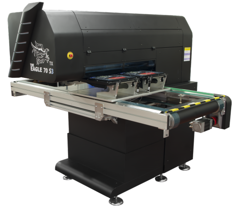 Multihead textile printer