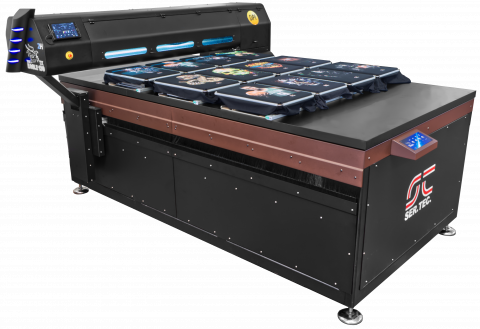 Industrial textile printer