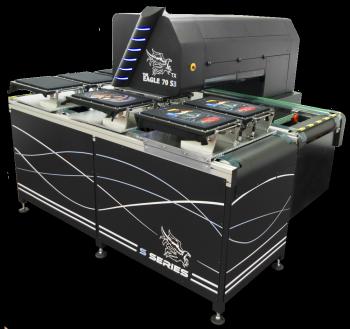 Fast textile printer