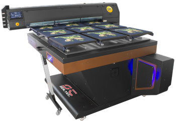 textile printer big table big size