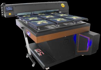 textile printer big table big size