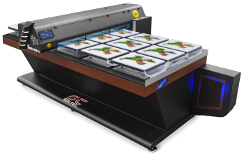 Large format tissue printer