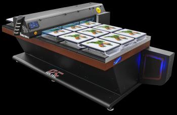 Large format tissue printer